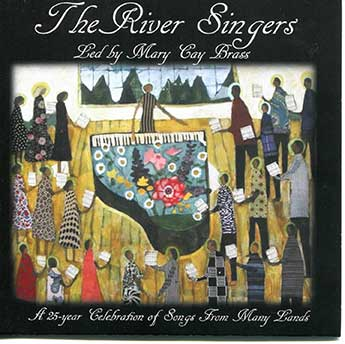 The River Singers - CD cover